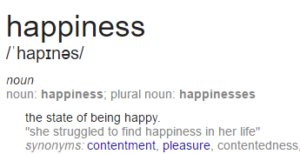 The Perpetual Pursuit of Happiness -